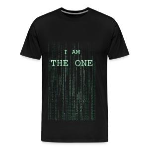 I am the one - Men's Premium T-Shirt