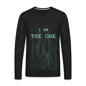 I am the one - Men's Premium Longsleeve Shirt
