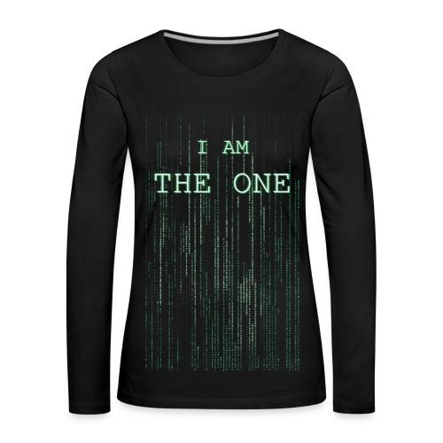I am the one - Women's Premium Longsleeve Shirt