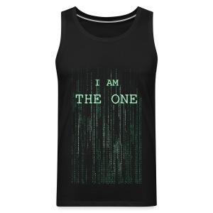 I am the one - Men's Premium Tank Top