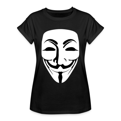 Anonymous - Guy Fawkes - Women's Oversize T-Shirt