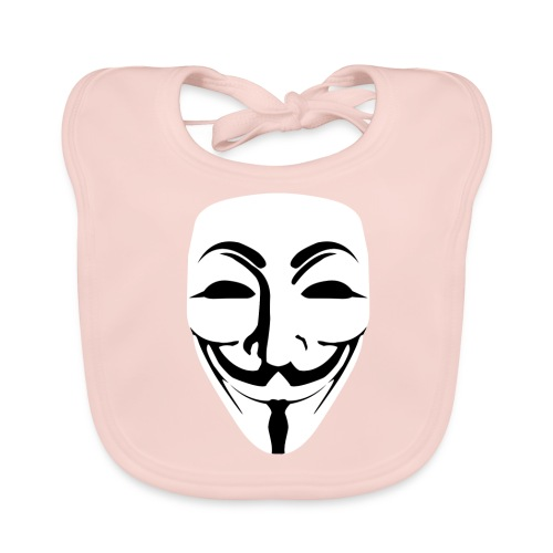 Anonymous - Guy Fawkes - Baby Organic Bib