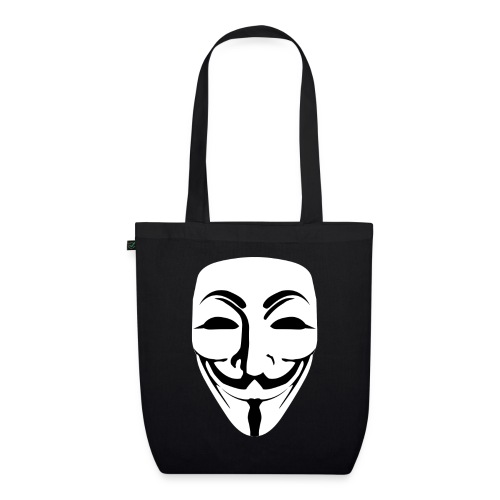 Anonymous - Guy Fawkes - EarthPositive Tote Bag