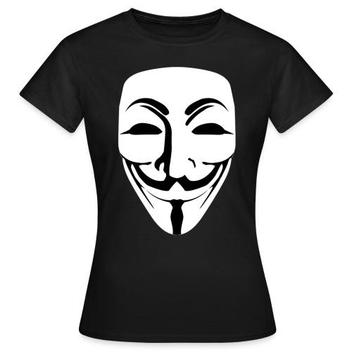 Anonymous - Guy Fawkes - Women's T-Shirt