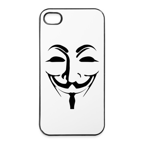 Anonymous - Guy Fawkes - iPhone 4/4s Hard Case