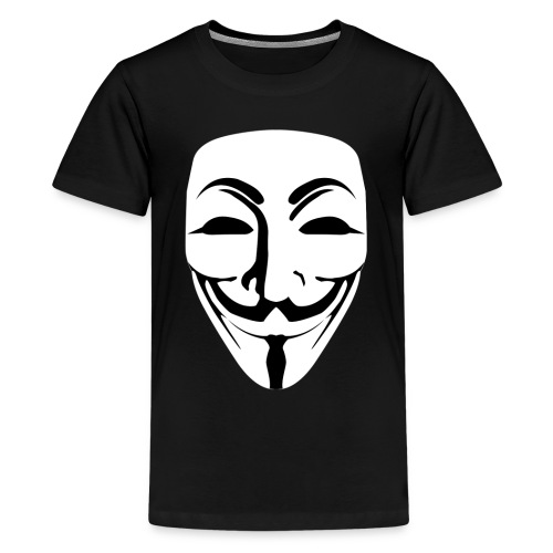 Anonymous - Guy Fawkes - Teenage Premium T-Shirt