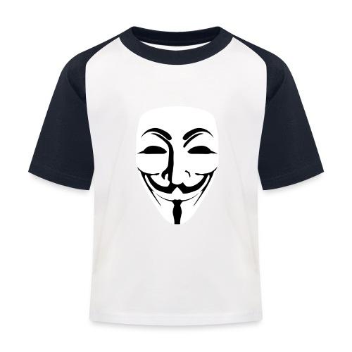 Anonymous - Guy Fawkes - Kids' Baseball T-Shirt