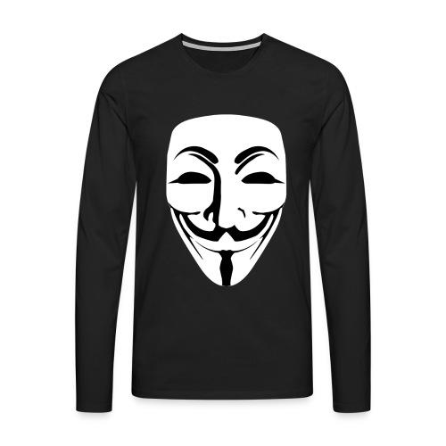 Anonymous - Guy Fawkes - Men's Premium Longsleeve Shirt