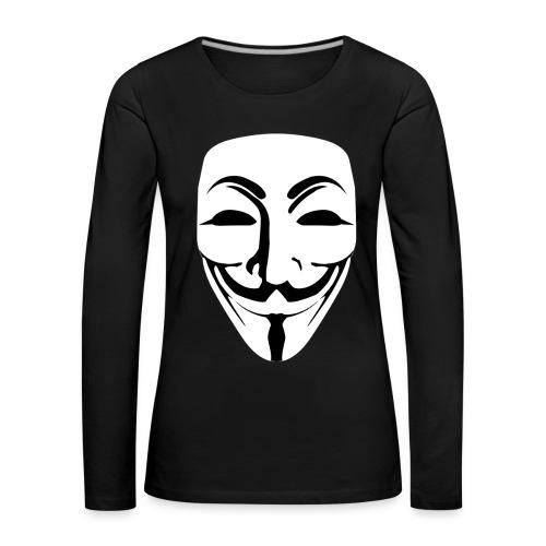 Anonymous - Guy Fawkes - Women's Premium Longsleeve Shirt