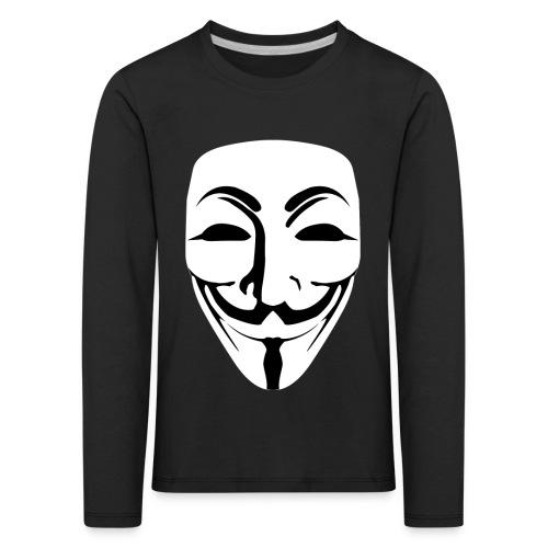 Anonymous - Guy Fawkes - Kids' Premium Longsleeve Shirt