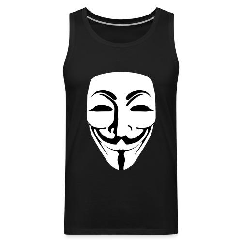 Anonymous - Guy Fawkes - Men's Premium Tank Top