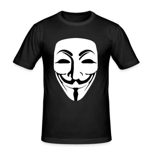 Anonymous - Guy Fawkes - Men's Slim Fit T-Shirt