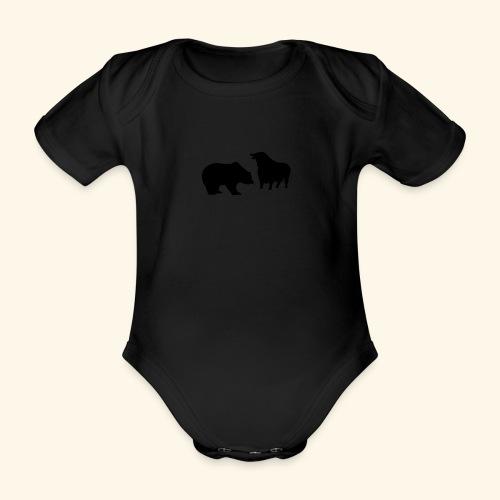 Bulle und Bär, Girlie - Baby Bio-Kurzarm-Body