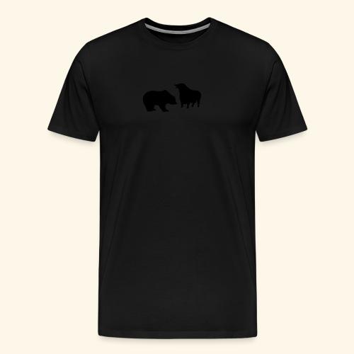 Bulle und Bär, Girlie - Männer Premium T-Shirt