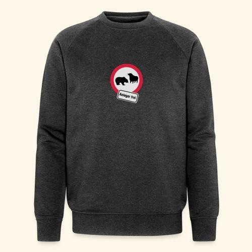 Anleger frei, Kerlie - Männer Bio-Sweatshirt von Stanley & Stella