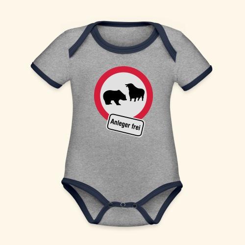 Anleger frei, Kerlie - Baby Bio-Kurzarm-Kontrastbody