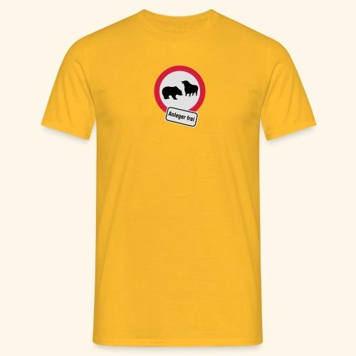 Anleger frei, Kerlie - Männer T-Shirt