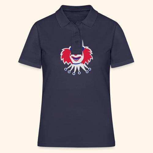 Clown, Biggie - Frauen Polo Shirt