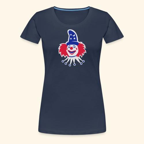 Clown, Biggie - Frauen Premium T-Shirt