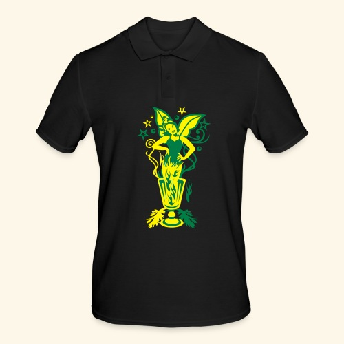 Absinth, Biggie - Männer Poloshirt