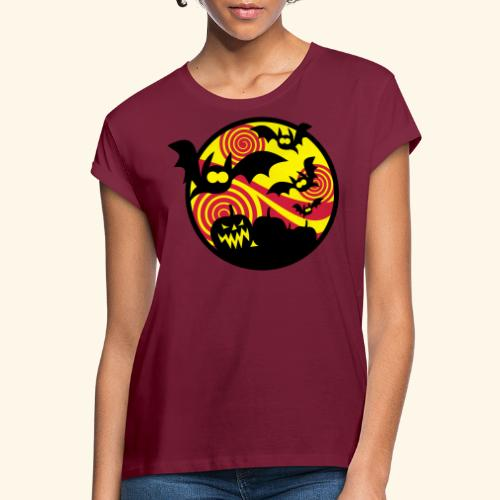 Fledermäuse & Kürbisse, Biggie - Frauen Oversize T-Shirt