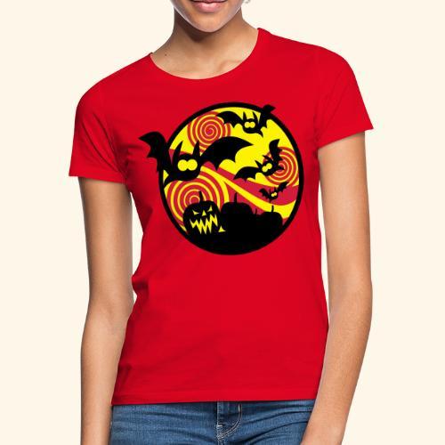Fledermäuse & Kürbisse, Biggie - Frauen T-Shirt
