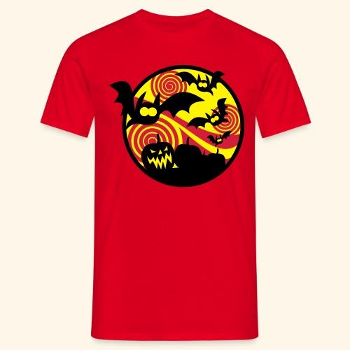 Fledermäuse & Kürbisse, Biggie - Männer T-Shirt