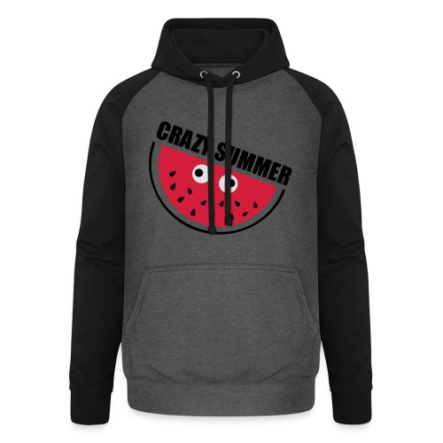 Crazy Melone - Unisex Baseball Hoodie