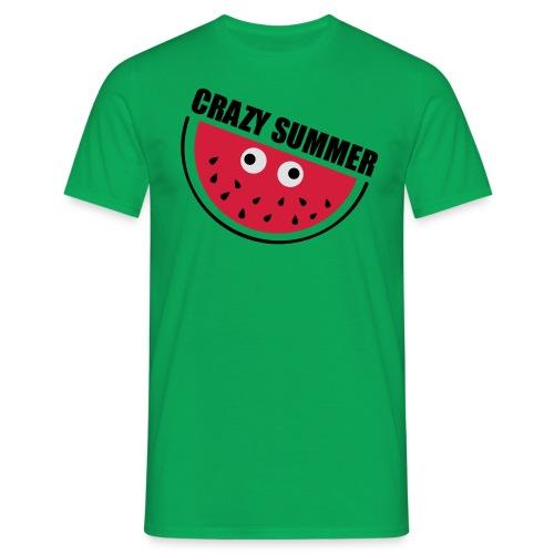 Crazy Melone - Männer T-Shirt