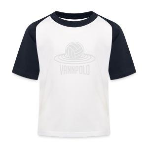 Vannpolo - Baseball-T-skjorte for barn