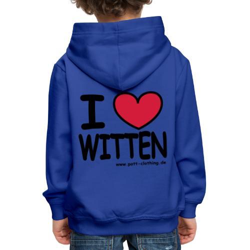 I love Witten by RPC - Männer T-Shirt klassisch - Kinder Premium Hoodie