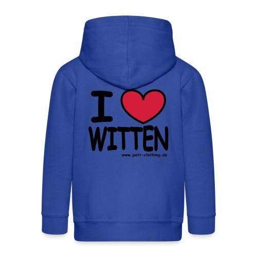 I love Witten by RPC - Männer T-Shirt klassisch - Kinder Premium Kapuzenjacke
