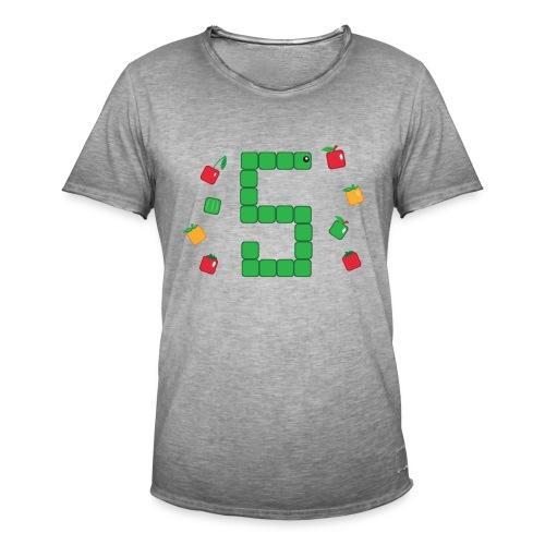 T-shirt Snake - T-shirt Geekette - T-shirt vintage Homme