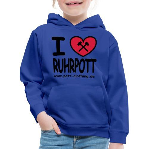 i love Ruhrpott by Ruhrpott Clothing - Männer Shirt klassisch - Kinder Premium Hoodie