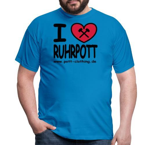 i love Ruhrpott by Ruhrpott Clothing - Männer Shirt klassisch - Männer T-Shirt