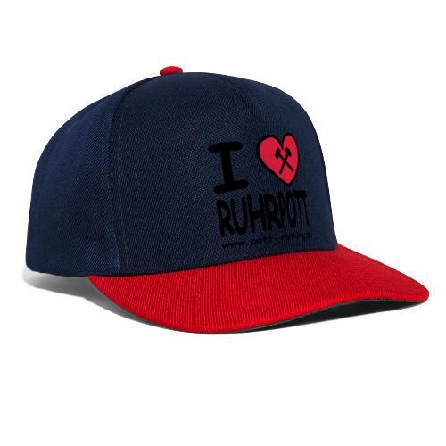 i love Ruhrpott by Ruhrpott Clothing - Männer Shirt klassisch - Snapback Cap
