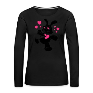 deep in love - Frauen Premium Langarmshirt