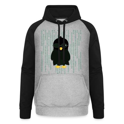 Pingouin Neo - T-shirt Geek - Sweat-shirt baseball unisexe