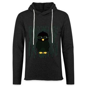 Pingouin Neo - T-shirt Geek - Sweat-shirt à capuche léger unisexe