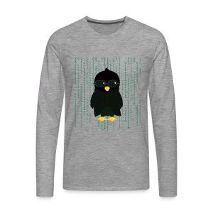 Pingouin Neo - T-shirt Geek - T-shirt manches longues Premium Homme