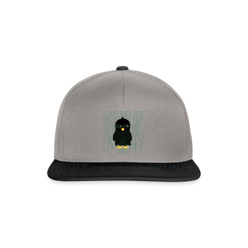 Pingouin Neo - T-shirt Geek - Casquette snapback