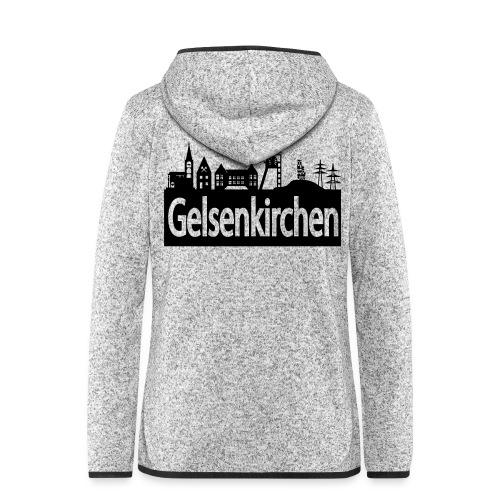 Skyline Gelsenkirchen - Männer T-Shirt klassisch - Frauen Kapuzen-Fleecejacke