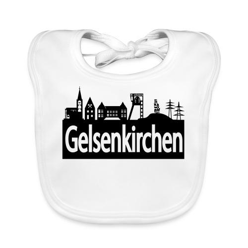 Skyline Gelsenkirchen - Männer T-Shirt klassisch - Baby Bio-Lätzchen