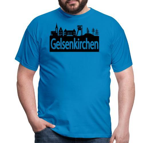 Skyline Gelsenkirchen - Männer T-Shirt klassisch - Männer T-Shirt