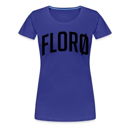 Florø (sted) - Premium T-skjorte for kvinner