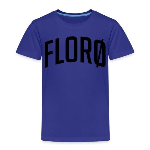 Florø (sted) - Premium T-skjorte for barn