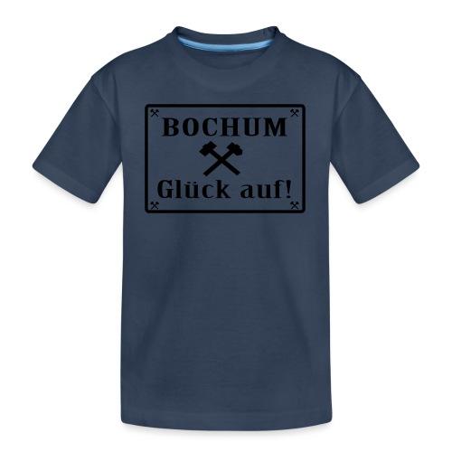 Glück auf! Bochum - Männer T-Shirt klassisch - Teenager Premium Bio T-Shirt