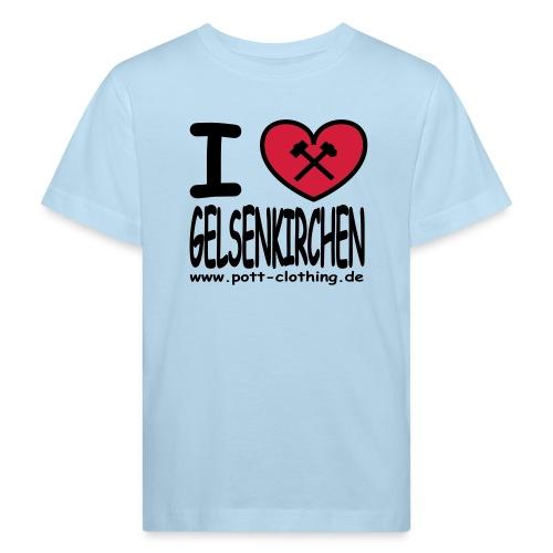 I love Gelsenkrichen - Hammer & Schlägel by Ruhrpott Clothing - T-Shirt klassisch - Kinder Bio-T-Shirt