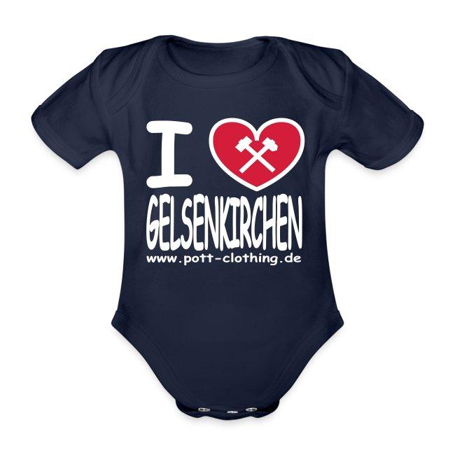 I love Gelsenkrichen - Hammer & Schlägel by Ruhrpott Clothing - T-Shirt klassisch