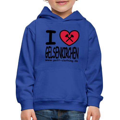 I love Gelsenkrichen - Hammer & Schlägel by Ruhrpott Clothing - T-Shirt klassisch - Kinder Premium Hoodie